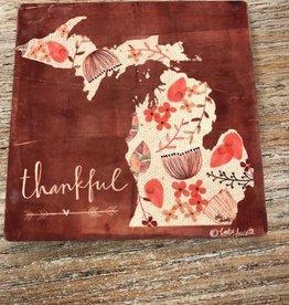 Decor Thankful Coaster