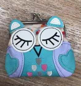 Purse Sleeping Owl Coin Purse