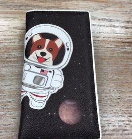 Wallet Corgi Astronaut in Space Wallet