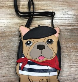Purse Artistic French Bulldog Crossbody