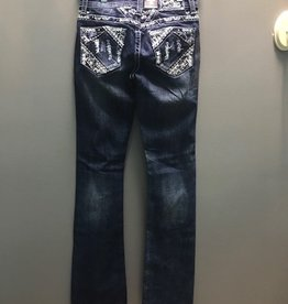 Jean GIL Stitch On Yoke Bootcut Jeans