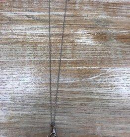 Jewelry Long Antler Necklace & Earrings