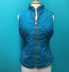 Vest Quilted Vest Lined w/ Selpa Fur