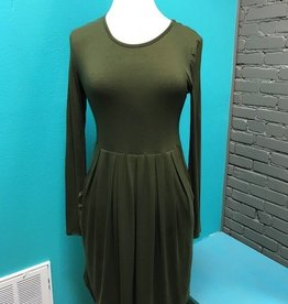 Dress LS Dress w/ Pockets