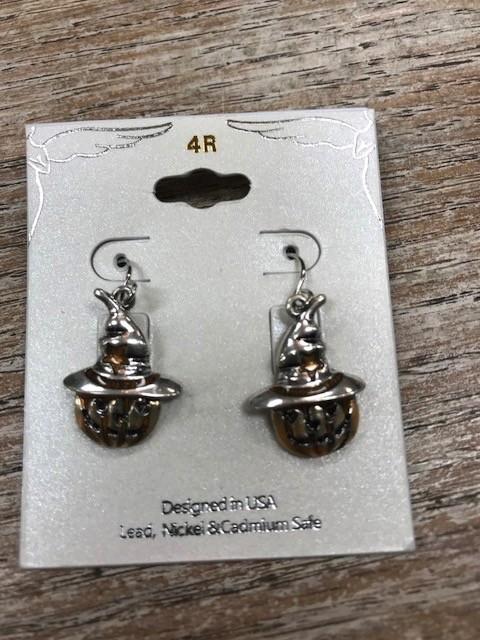 Jewelry Pumpkin Dangle Earrings