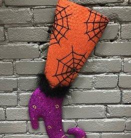 Decor Glitter Witch Shoe