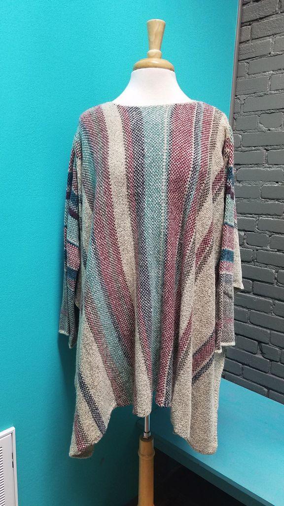 Poncho Long Sleeve Poncho Sweater
