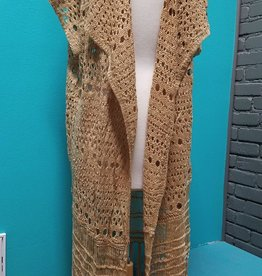 Cardigan Crochet Duster