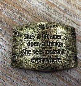 Jewelry Shes A Dreamer Sentiment