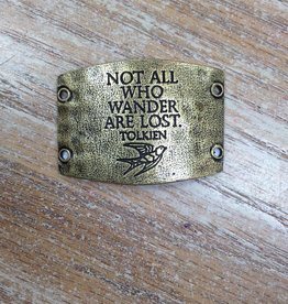 Jewelry Not All Who Wander Sentiment