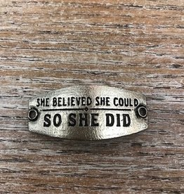 Jewelry She Believed She Could SM Sent