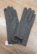 Gloves Touchscreen Gloves w/ Bow Detail