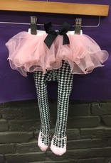 Kid's Houndstooth Baby Tutu Tights