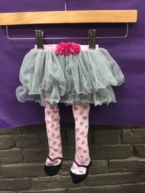 Kid's Polka Dot Baby Tutu Tights