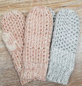 Gloves Waffle Knit Mittens