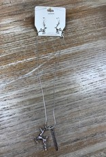 Jewelry Jingle All The Way Necklace & Earrings