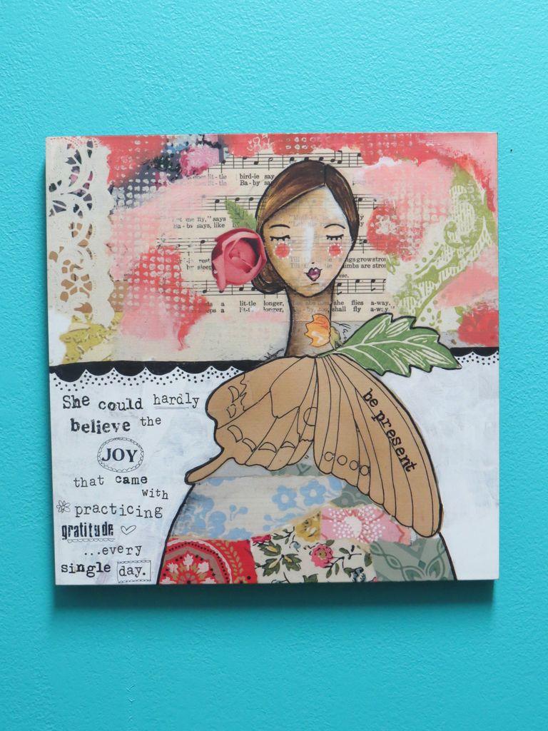 Decor Be Present/Gratitude Wall Art
