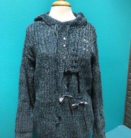 Sweater Velvet Chenille LS Pullover