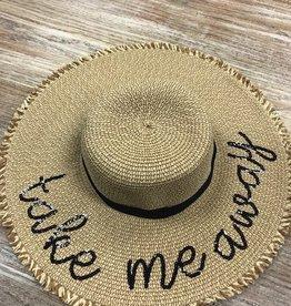 Hat Sequin Word Hat