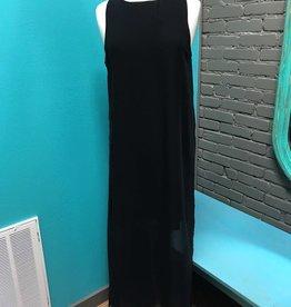 Dress Gina Black Maxi Dress