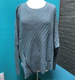 Sweater Slate Oversize Sweater, OneSize