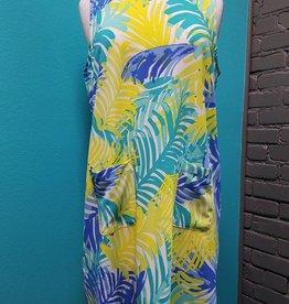 Dress Palm Macy Shift Dress