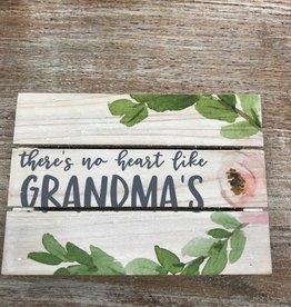 Decor Like Grandmas Pallet Sign 7x5