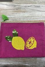 Bag Summer Jute Sequin Bag