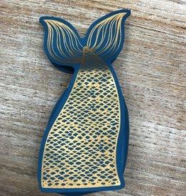 Bag Mermaid Tail Zip Pouch