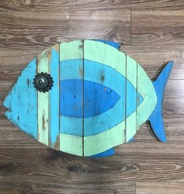 Decor Large Blue/Green Fish