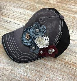 Hat Floral Deco Baseball Cap