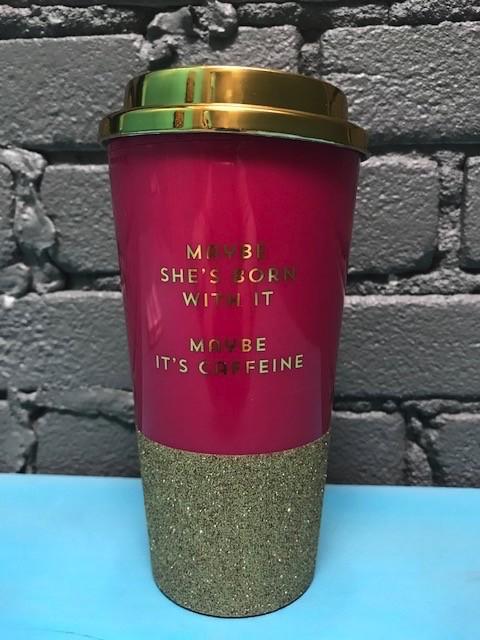 Mug Maybe She's Born With It Travel Mug