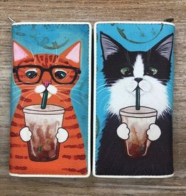 Wallet Caffiene Addicted Kitties Wallet