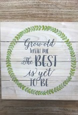 Decor Best Is Yet Fern Pallet Sign 12x12