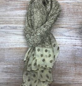 Scarf Fashion Scarf w/ Patterns & Dots