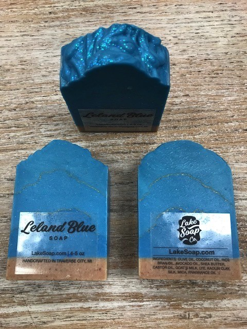 Beauty Lake Soap, Leland Blue