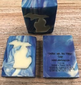 Beauty Lake Soap, Smitten With The Mitten