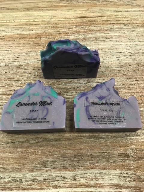 Beauty Lake Soap, Lavender Mint