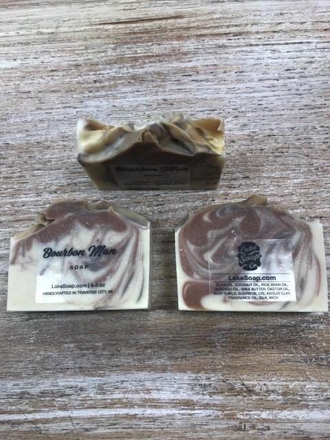 Beauty Lake Soap, Bourbon Man