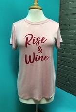 Shirt Pink Rise & Wine Shirt