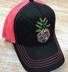 Hat Neon Pineapple Trucker Hat