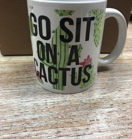 Mug Go Sit On A Cactus Mug