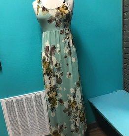 Dress Floral Maxi