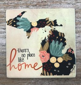 Decor There's No Place Like Home Coaster