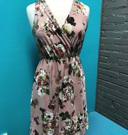 Dress Dusty Pink Floral Dress