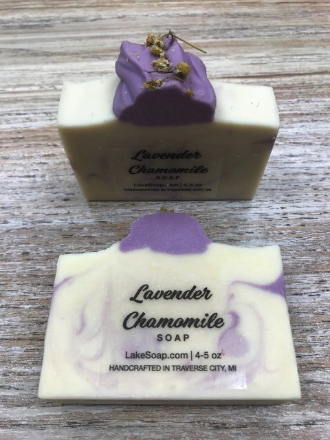 Beauty Lake Soap, Lavender Chamomille