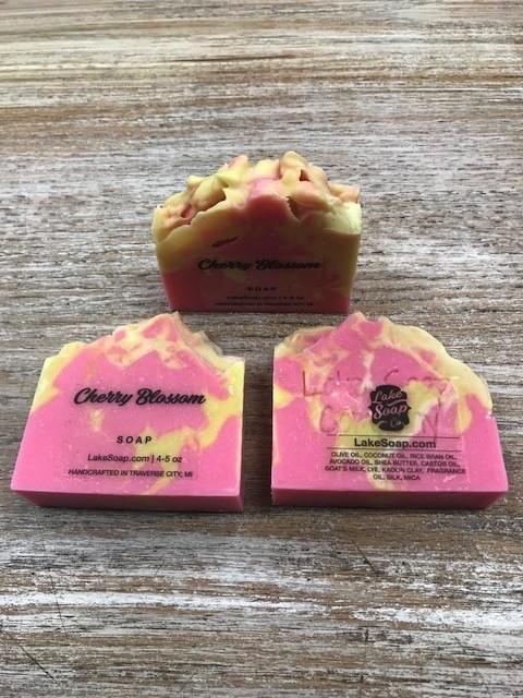 Kitchen Lake Soap, Cherry Blossom
