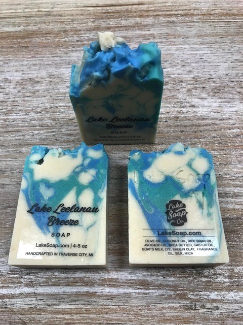 Kitchen Lake Soap, Lake Leelanau Breeze