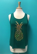 Tank Sparkly Pineapple Tank