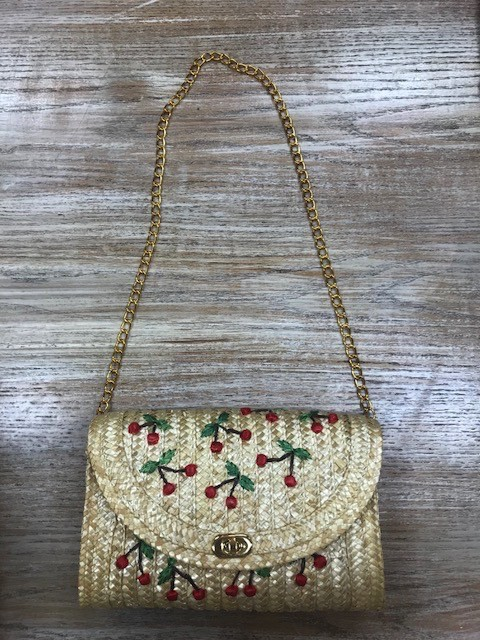 Purse Cherry Embroidered Purse